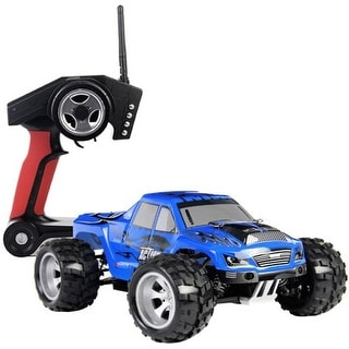 Costway 1/18 High Speed Scale 2.4G 4WD Off-Road RC Monster Truck Car Remote Controlled
