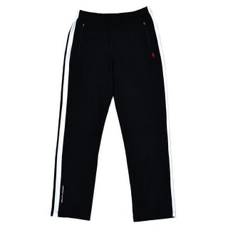 Polo Ralph Lauren NEW Black Men Size 4XLT Pull-On Interlock Track Pants