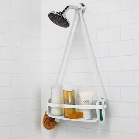 Umbra FLEX White Single Shower Caddy