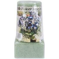 """Green - Styrofoam Vase Insert 6""""X3""""X2.625"""" 1/Pkg"""