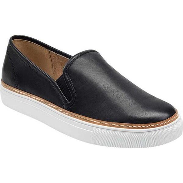 Newburgh Slip-On Sneaker Black Leather
