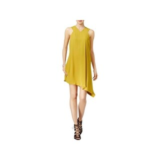 Rachel Rachel Roy Womens Cocktail Dress Asymmetric Sleeveless