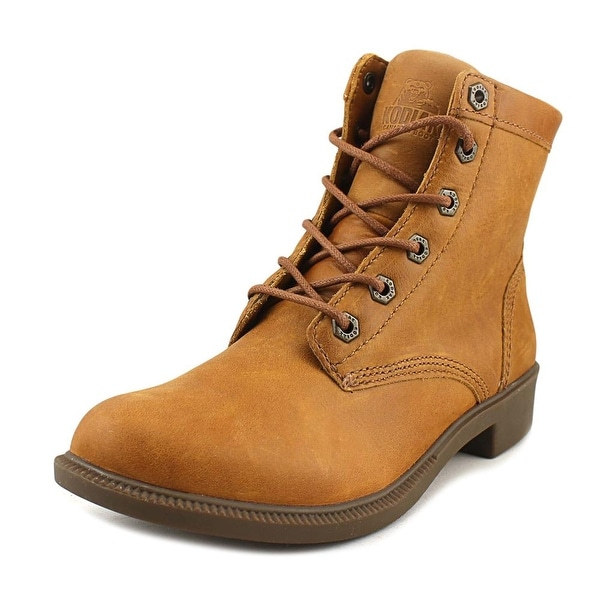 Kodiak Original Women Round Toe Synthetic Tan Boot