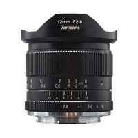 7artisans 12mm f/2.8 Manual Lens (Black) for Sony E-Mount Cameras - Black