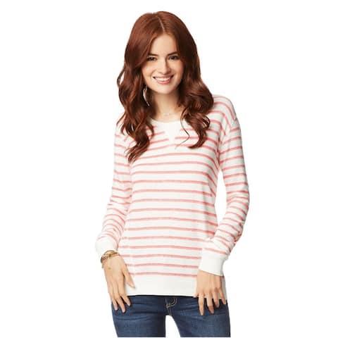 Aeropostale Womens Weathered Stripe Graphic T-Shirt