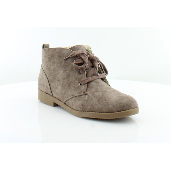 Pink & Pepper Auburn Women's Boots Taupe - 6.5
