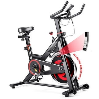 Link to Goplus Stationary Exercise Magnetic Cycling Bike 30Lbs Flywheel Home Similar Items in Cardio Equipment