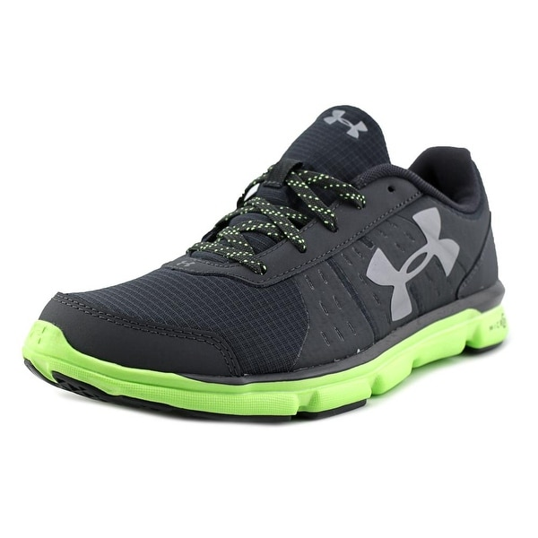 Under Armour Bgs Microg Speedswift Grt Round Toe Synthetic Running Shoe