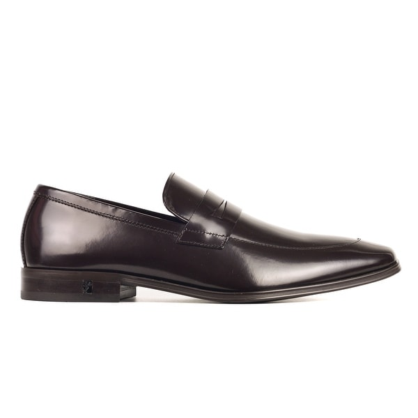 7f1c8ba8f95 Shop Versace Collection Mens Brown Leather Penny Loafers - Ships To ...