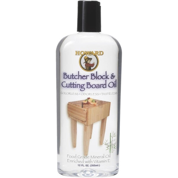 Howard 12Oz Butcher Block Oil