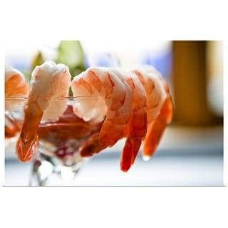 """Shrimp cocktail"" Poster Print"