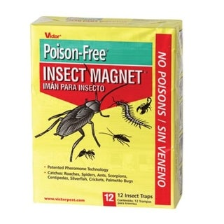 Victor M256 Roach Magnet Insect Traps, Pack of 12