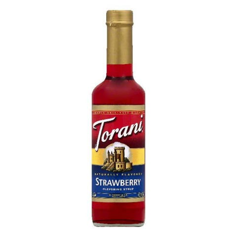 Torani Strawberry Flavoring Syrup, 12.7 OZ (Pack of 4)
