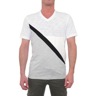 INC International Concepts Trend Tees Short Sleeve V-Neck Basic Tee