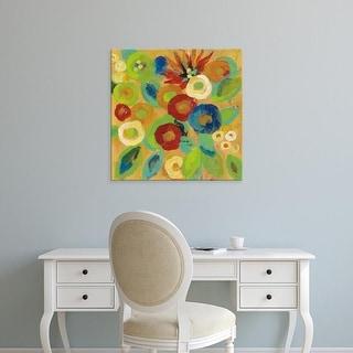 Easy Art Prints Silvia Vassileva's 'Flower Market II' Premium Canvas Art
