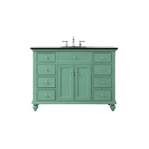 Kenzie Bathroom Vanity Cabinet Set with Granite top