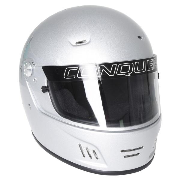 Conquer Full Face Helmet Face Shield