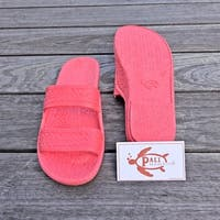 Pali Hawaii Jandals PINK with Certificate of Authenticity