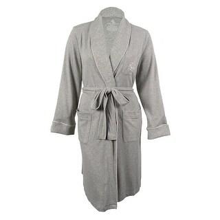 Lauren Ralph Lauren Women's Shawl-Collar Short Robe - 1x