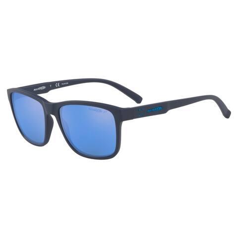 Arnette AN4255 267422 56 Matte Blue Man Rectangle Sunglasses