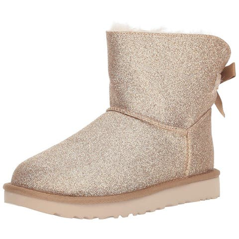 Ugg Womens Mini Bailey Closed Toe Ankle Fashion Boots