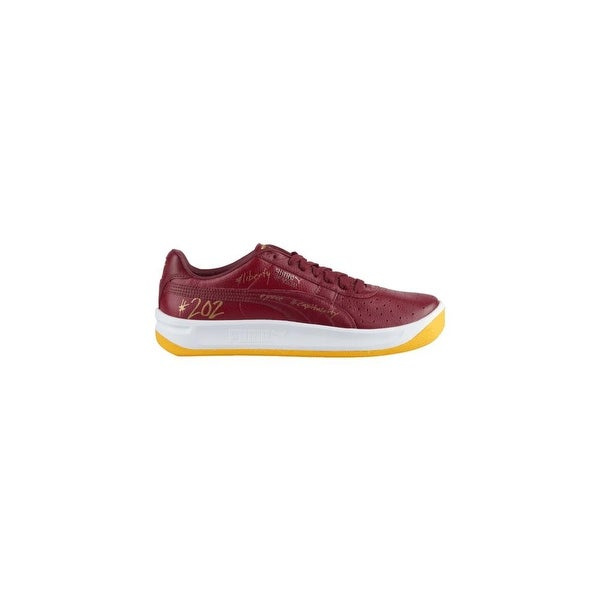 Shop Puma Mens gv special wdc Leather Low Top Lace Up