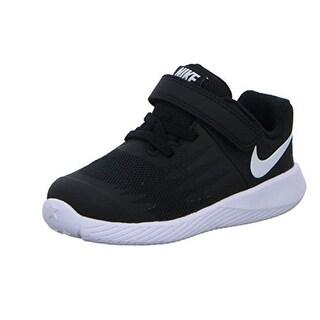 Nike Boys' Star Runner (Tdv) Toddler Shoe (10 M Us Toddler, Black/Volt/White)