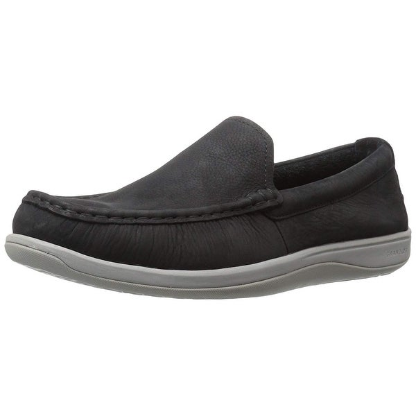 Cole Haan Men's Boothbay Slip on Loafer, Black Nubuck, Size 10.5