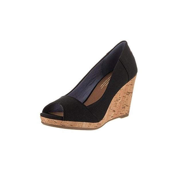 5e5fd78c2d68 Shop Toms Womens Stella Wedge Sandals Open Toe Cork - Ships To ...