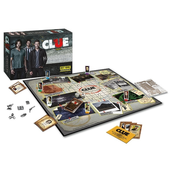 Supernatural: Clue Limited Edition Board Game - multi