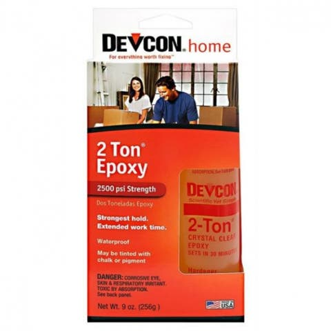 Devcon 33345 Non-Shrinking 2-Ton Epoxy, 9 Oz