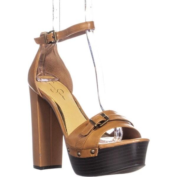 90658d15e84 Shop Jessica Simpson Cosimo Ankle-Strap Platform Sandals, Tan ...