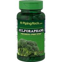 Piping Rock Sulforaphane from Broccoli Sprout Extract 90 Quick Release Capsules Dietary Supplement