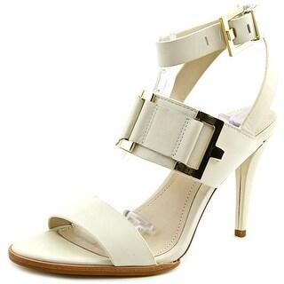 Calvin Klein Vanesa Women Open Toe Leather White Sandals