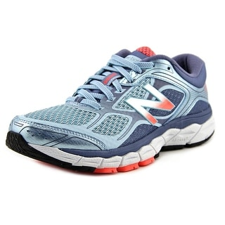 New Balance W860 Women 2A Round Toe Synthetic Blue Running Shoe