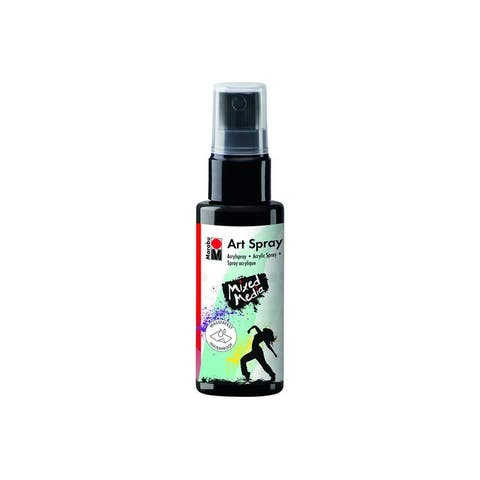 12099005073 marabu mixed media art spray 1 7oz black