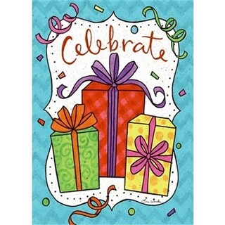 Divinity Boutique 18642X Single Cards-Celebrate Presents - Pack of 6