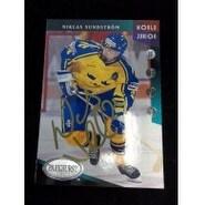 Signed Sundstrom Niklas 1993 Parkhurst Hockey Card autographed
