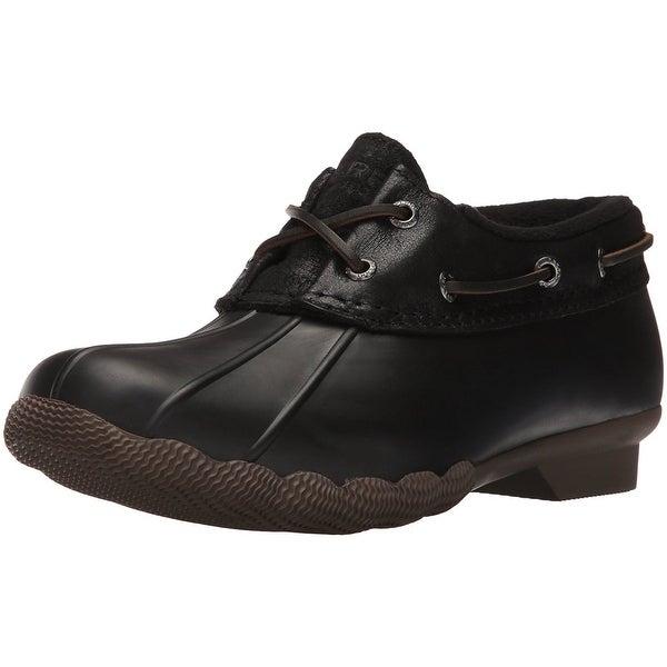 Sperry Top-Sider Women's Saltwater Isla Rain Boot - Brown/Tan