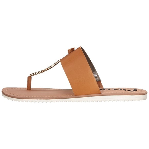 Circus by Sam Edelman Womens SAXON Split Toe Casual T-Strap Sandals
