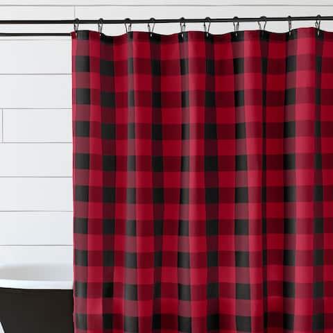 Farmhouse Living Buffalo Check Shower Curtain