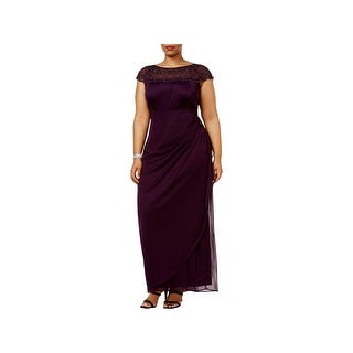 MSK Women Womens Plus Evening Dress Formal Special Occasion