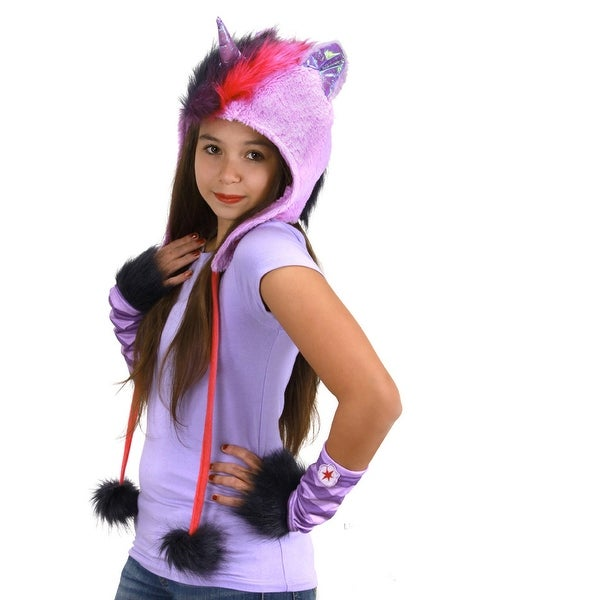 My Little Pony Twilight Sparkle Costume Glovettes - Purple