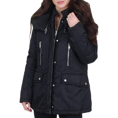 Marc New York by Andrew Marc Womens Hollis Car Coat Winter Warm