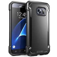 Galaxy S7 Case, SUPCASE Unicorn Beetle Series, Hybrid Protective Case for Samsung Galaxy S7 2016 Release-Black/Black