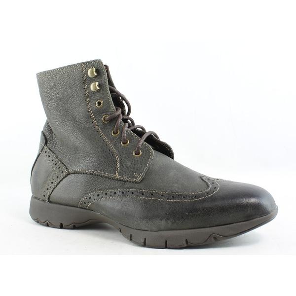 598a7ddb397 Shop Hush Puppies Mens Five-Boot Gray Combat Boots Size 9 - Free ...