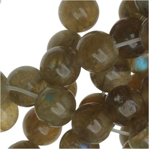 Labradorite Gemstone 6mm Round Beads (15.5 Inch Strand)