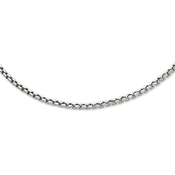 Chisel Stainless Steel Polished Fancy Link 3.80mm Chain Necklace (3.8 mm) - 19.75 in