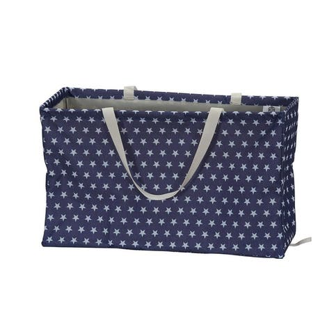 KRUSH CONTAINER Rectangle Tote Bag, Stars