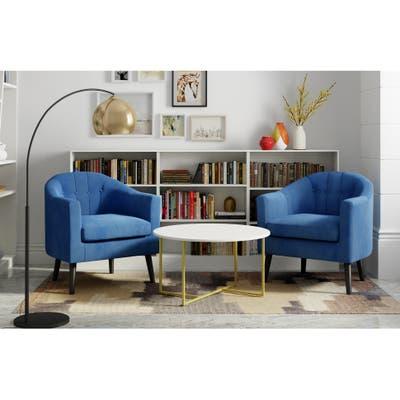 Carson Carrington Ulmjarv Tufted Accent Chair